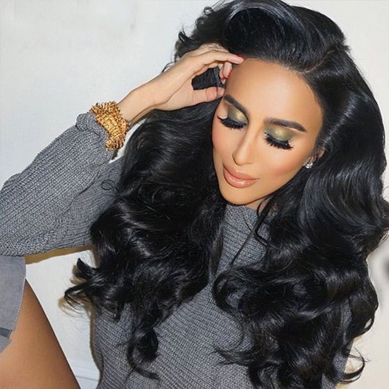 Brazilian Body Wave Lace Front Wig 22 Inches