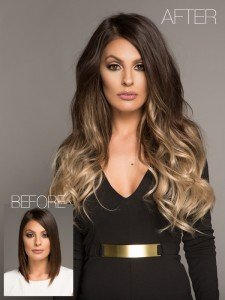 160 Gram Clip In Extensions 20 Inches